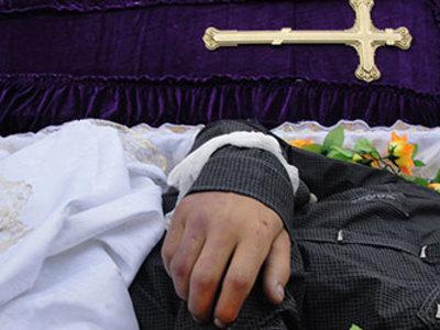 Сонник гроб с покойником закрытый в доме