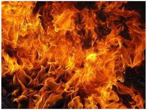 Видеть языки пламени