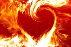 Огонь ассоциируется с чувствами и эмоциями