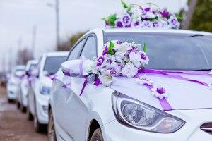 Машины на свадьбе