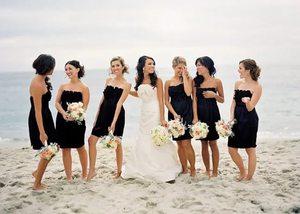 Траурные платья на свадьбе
