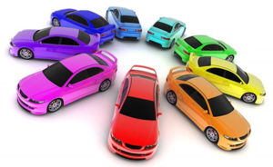 Обратите внимание на цвет машины