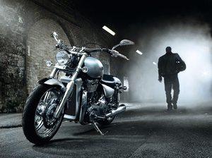 Красивый мотоцикл во сне
