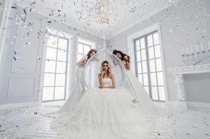 Сон свадебное платье на себе замужней