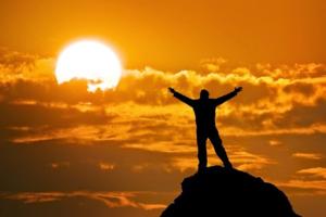 Приснить себя на вершине горы - к счастью и удаче