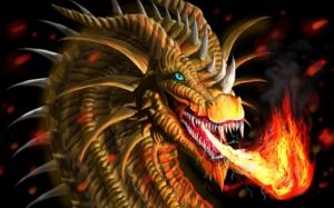 Огнедышащий дракон предупреждает о колдовском вмешательстве