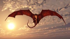 Летящий дракон во сне - к карьерному росту